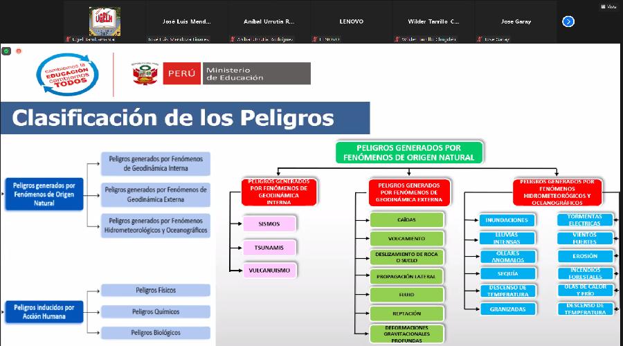 PREVAED de la UGEL Hualgayoc realiza taller de capacitación a directivos de II.EE.